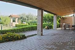 Villetta indipendente con 500 mq di giardino in zona periferica